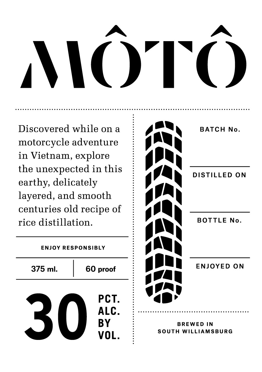 Moto Large Label