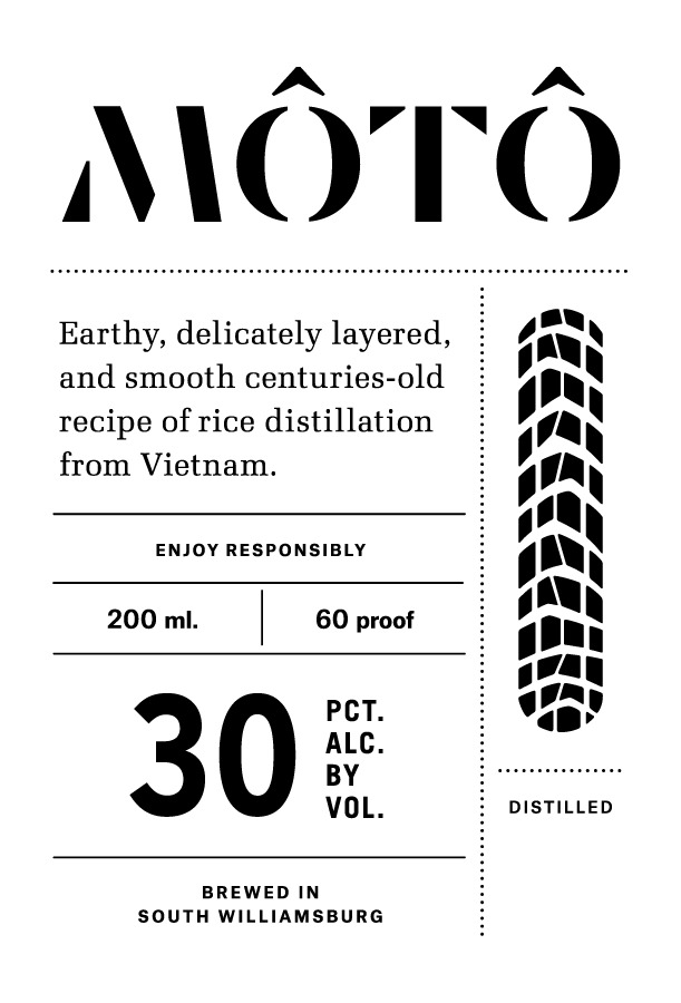 Moto Small Label
